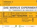Markusexperiment Flyer